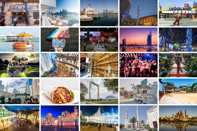 Photo stops at iconic Dubai attractions