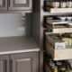 Pull-Out Kitchen Pantry Storage