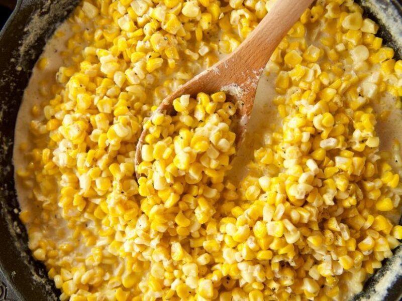 Smooth Corn Mac and Cheese