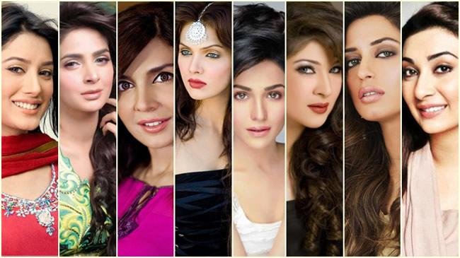 Beautiful And Hottest Pakistani Actresses