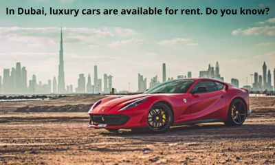 Dubai luxury cars
