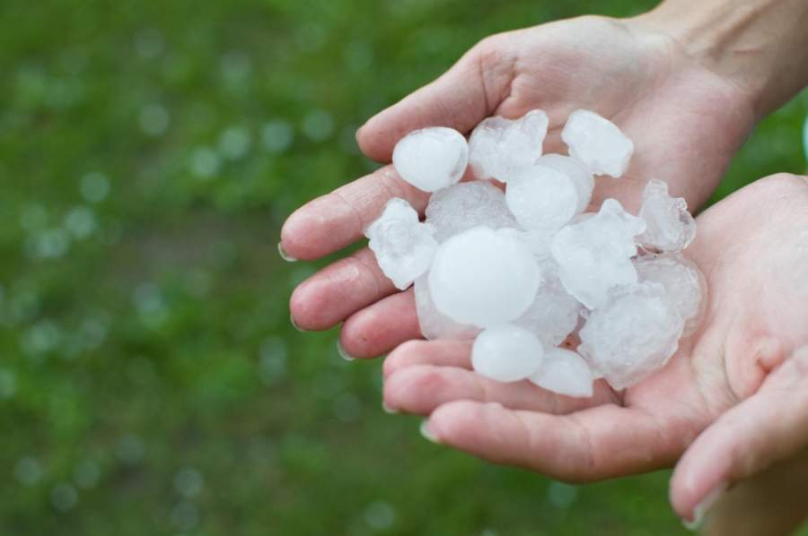 This Is How to Spot Hail Damage on Your Roof