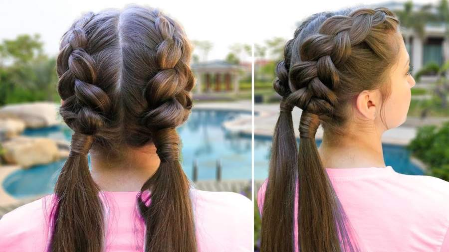 Pigtail Braid Hairstyle Girl