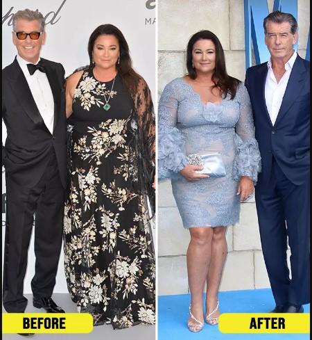 Pierce Brosnan Wife Weight Loss 2020